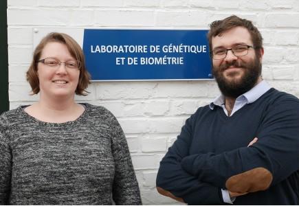 Aurélie Evrard et Sébastien Guizard